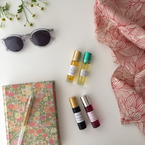 essential oils on holiday