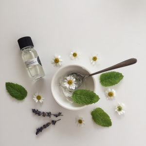 peppermint essential oil for sun burn and after sun